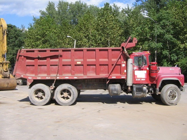 Rd688s Tandem Axle Dump Truck