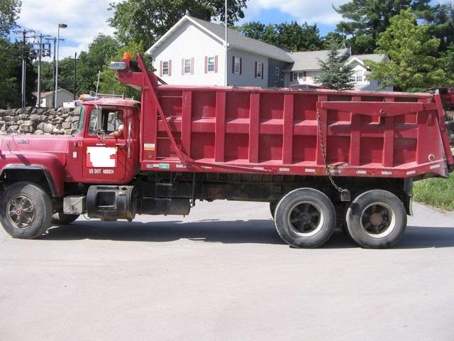 Rd690s Tandem Axle Dump Truck