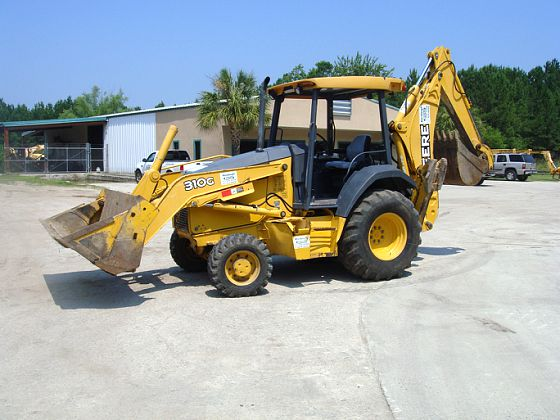 JOHN DEERE 310G LOADER BACKHOE